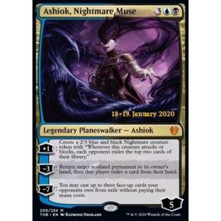 Ashiok, Nightmare Muse (Version 2) - PROMO FOIL