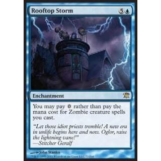 Rooftop Storm