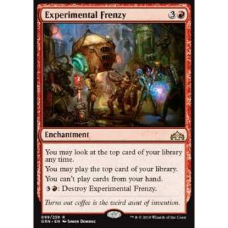 Experimental Frenzy