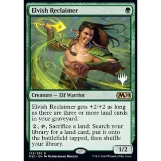 Elvish Reclaimer (Version 1) - PROMO
