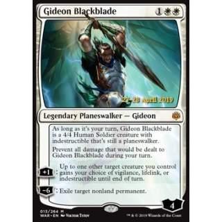 Gideon Blackblade - PROMO FOIL