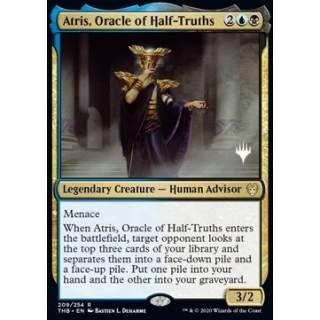 Atris, Oracle of Half-Truths (Version 1) - PROMO FOIL