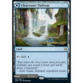 Clearwater Pathway // Murkwater Pathway (V.2) - PROMO FOIL