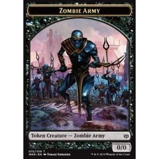 Zombie Army Token (Black 0/0) (Version 3)