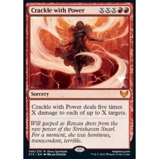 Crackle with Power (V.2) - PROMO FOIL