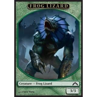Frog Lizard Token (Green 3/3)