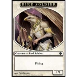 Bird Soldier Token (White 1/1)