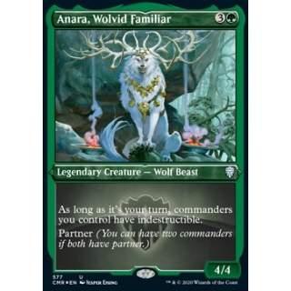 Anara, Wolvid Familiar - PROMO FOIL