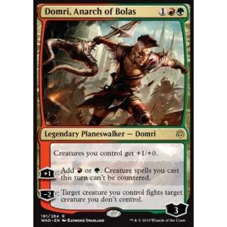 Domri, Anarch of Bolas (Version 1) - FOIL