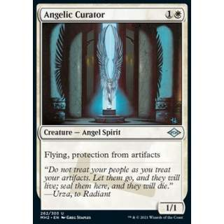 Angelic Curator (V.1) - FOIL