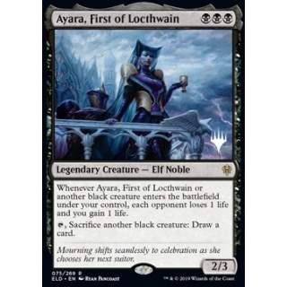Ayara, First of Locthwain (Version 2) - PROMO FOIL