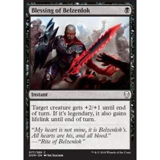 Blessing of Belzenlok - FOIL
