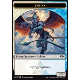 Sphinx Token (White and Blue 4/4)