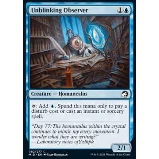 Unblinking Observer