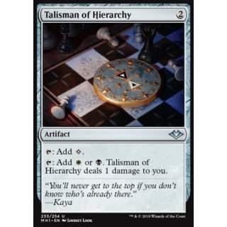 Talisman of Hierarchy - FOIL