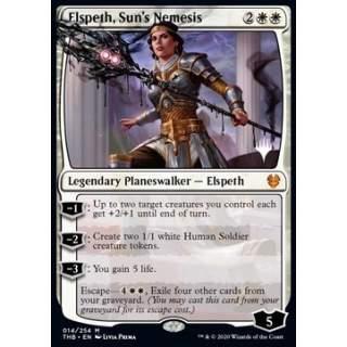 Elspeth, Sun's Nemesis (V.1) - PROMO FOIL