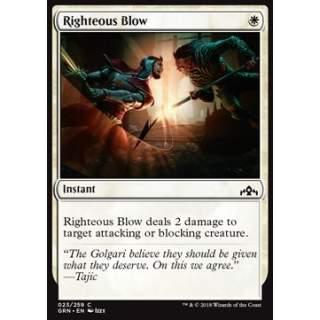 Righteous Blow - FOIL