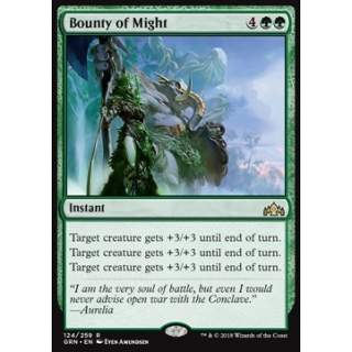 Bounty of Might - FOIL