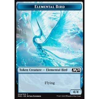 Elemental Bird Token (Blue 4/4)