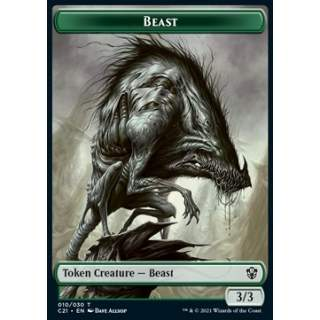 Beast Token (G 3/3) // Whale Token (U 6/6)