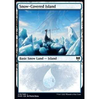 Snow-Covered Island (V.1)