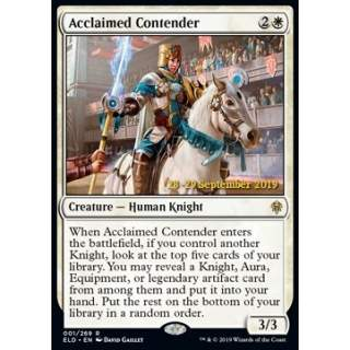 Acclaimed Contender (Version 1) - PROMO FOIL