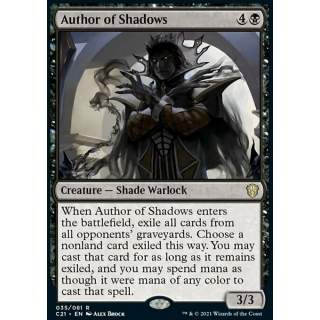 Author of Shadows
