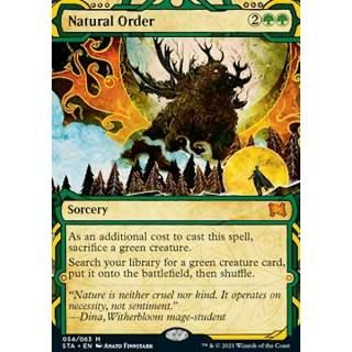 Natural Order (V.3) - FOIL