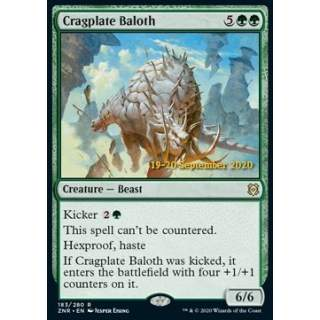 Cragplate Baloth (V.2) - PROMO FOIL
