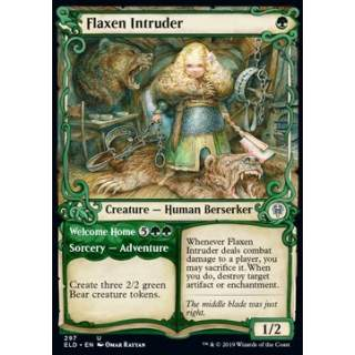 Flaxen Intruder // Welcome Home - PROMO FOIL