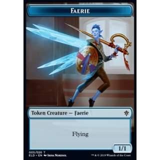 Faerie Token (Blue 1/1) - PROMO