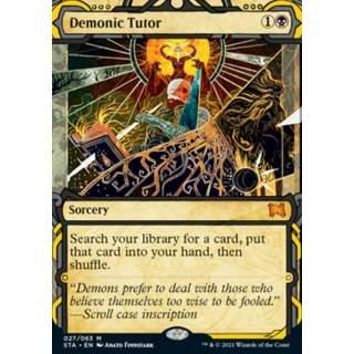 Demonic Tutor (V.3) - FOIL