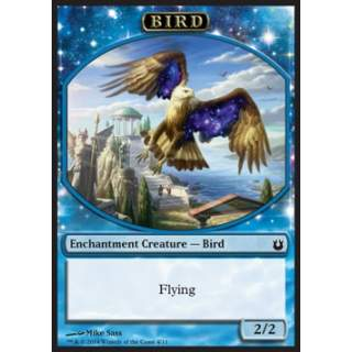 Bird Token (Blue 2/2 Enchantment)