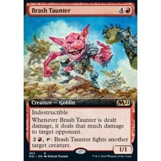 Brash Taunter - PROMO FOIL