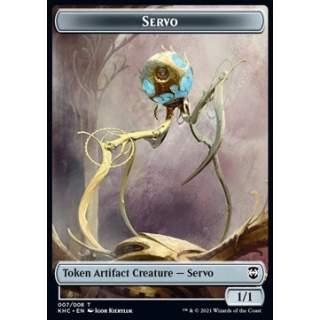 Servo Token (A 1/1) // Elf Warrior Token (G 1/1)