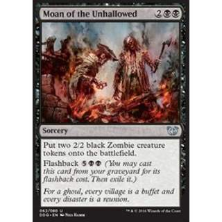 Moan of the Unhallowed