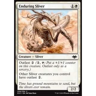 Enduring Sliver