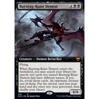 Burning-Rune Demon - PROMO