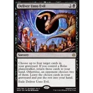 Deliver Unto Evil