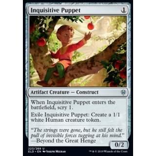 Inquisitive Puppet - FOIL