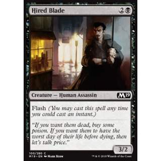 Hired Blade - FOIL