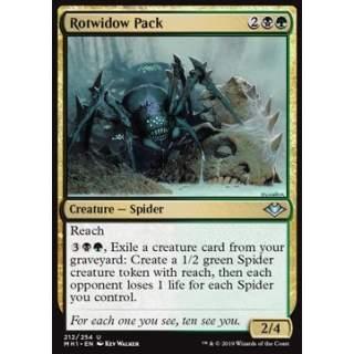 Rotwidow Pack - FOIL