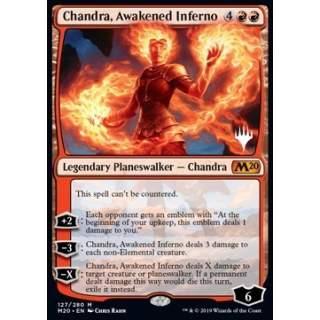 Chandra, Awakened Inferno (Version 1) - PROMO FOIL