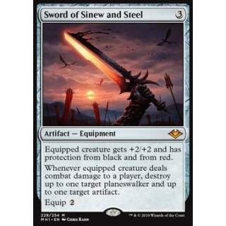 Sword of Sinew and Steel - FOIL