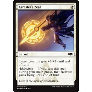 Arrester's Zeal - FOIL