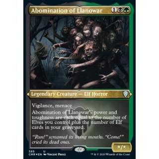 Abomination of Llanowar - PROMO FOIL