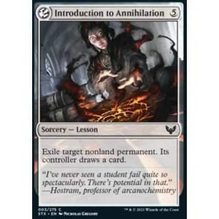 Introduction to Annihilation - FOIL
