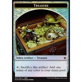 Treasure Token / Vampire Token (W 1/1 Lifelink) - FOIL