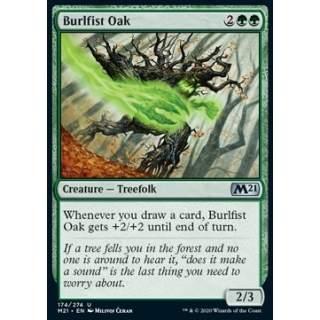 Burlfist Oak - FOIL