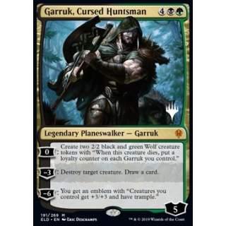 Garruk, Cursed Huntsman (Version 2) - PROMO